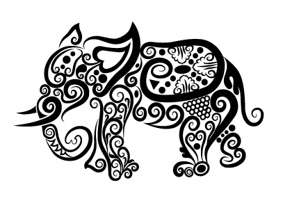 Drawing Letters further Simple line drawing clip art additionally Black Diamond Tiger Paw Ring as well Realistic Pig Head Clipart besides 144537469264749507. on aa e elephant